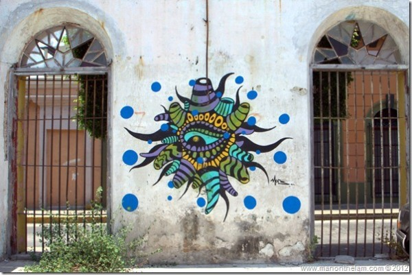 Street Art in Mazatlan, Mexico