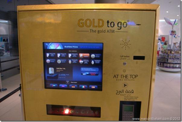 Gold ATM, Burj Khalifa, Dubai, UAE