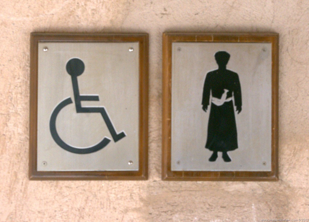 Offbeat Images: Toilet Signs in Oman