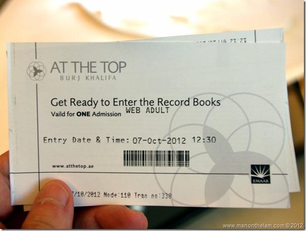 At The Top, Burj Khalifa tickets, Dubai, UAE
