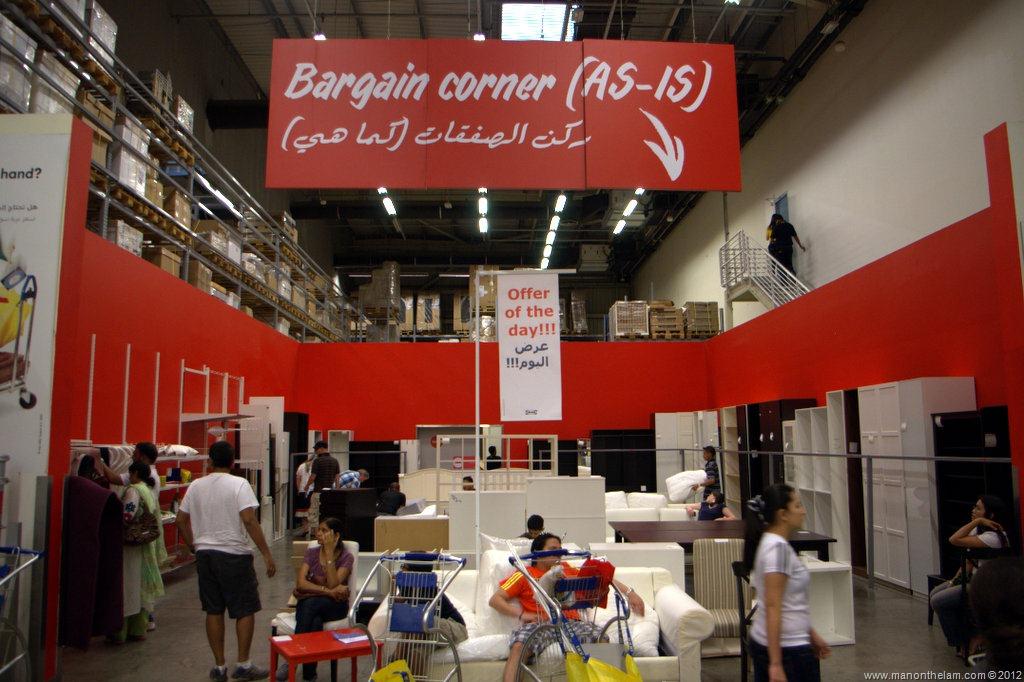 Shopping at IKEA Dubai -- Same, Same...but Different