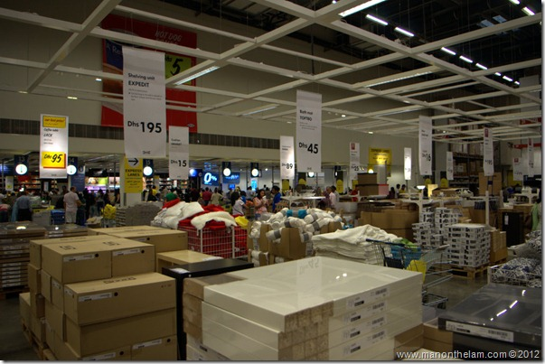 Checkouts, Dubai IKEA, shopping in Dubai, UAE