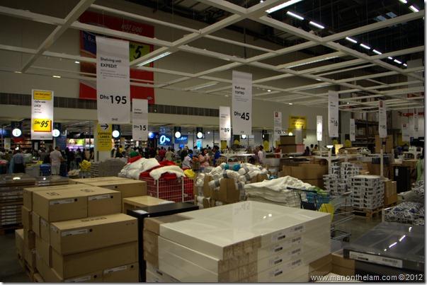 Checkouts, Dubai IKEA, shopping in Dubai, UAE