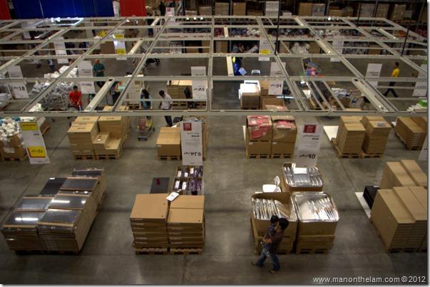 Dubai IKEA warehouse, shopping in Dubai, UAE