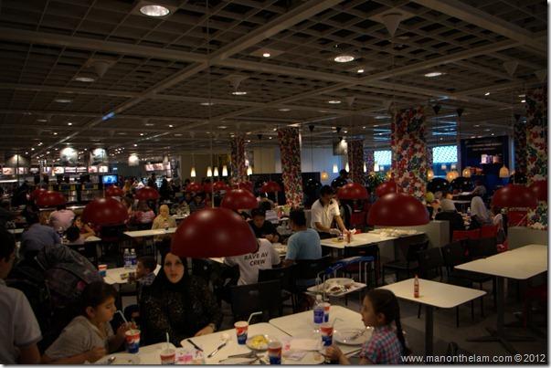Ikea Cafeteria, Dubai IKEA, shopping in Dubai, UAE