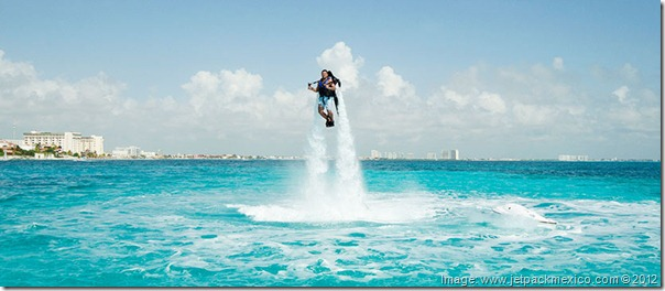 Jetpack Mexico -- Quirky Things to do in Cancun