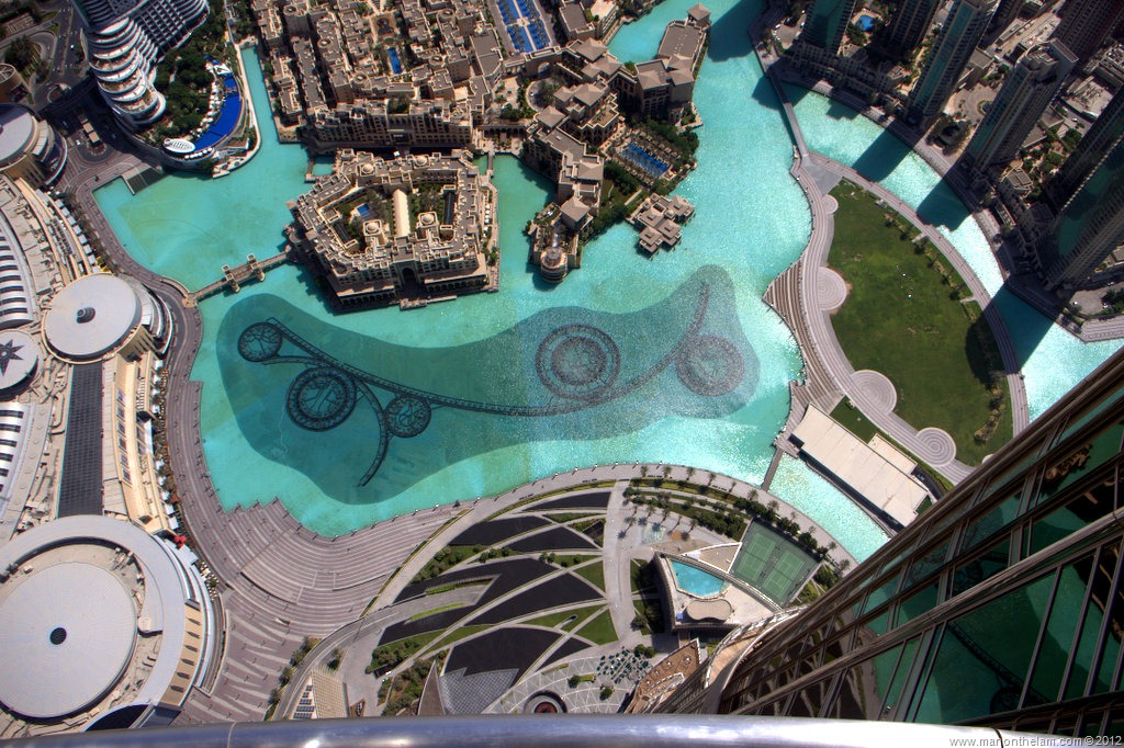 At the Top of Burj Khalifa -- The Tallest Building in the World