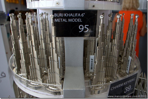Models of the tallest building in the world, Burj Khalifa