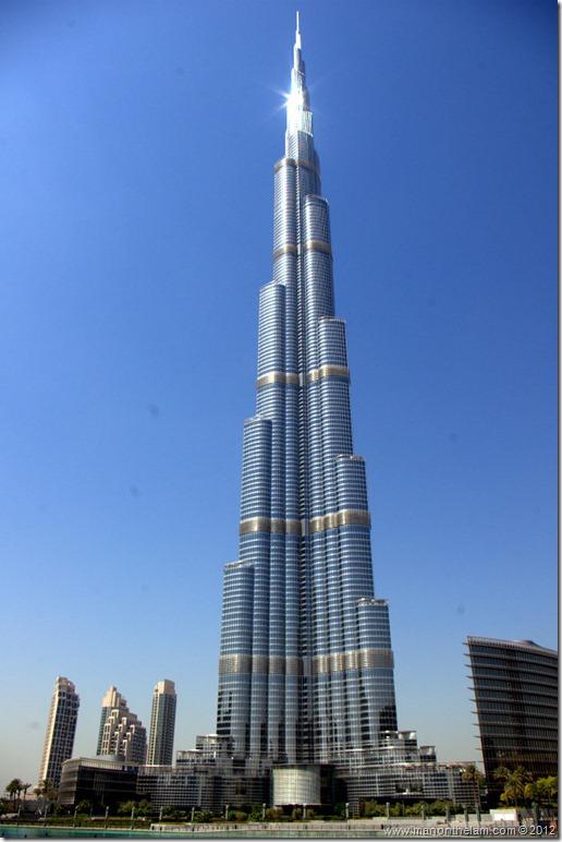 The tallest building in the world, Burj Khalifa, Dubai, UAE