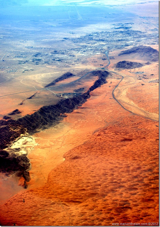 Desert between Oman and United Arab Emirates