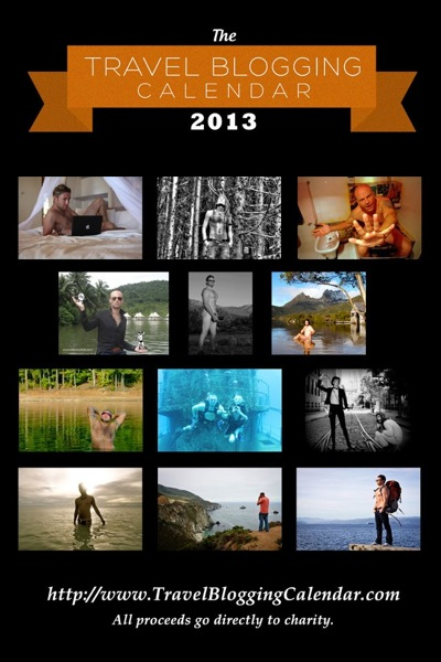 Men of Travel Blogging Calendar 2013
