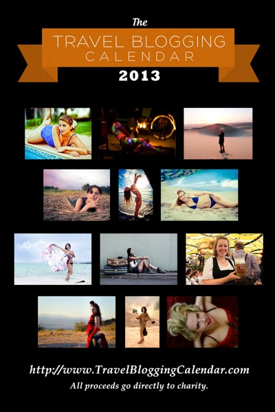 Women of Travel Blogging Calendar