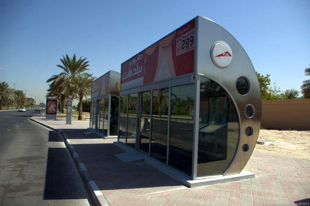 Dubai: Land of Air-Conditioned Bus Stops
