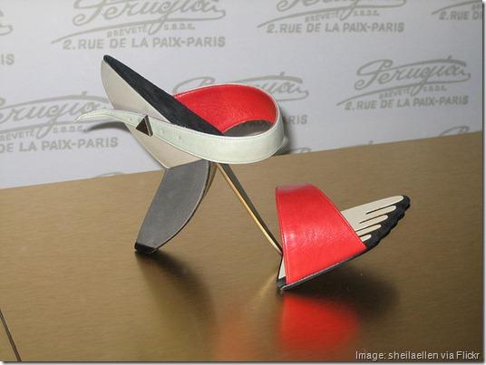 Homage to Picasso Shoe, Bata Shoe Museum, Toronto