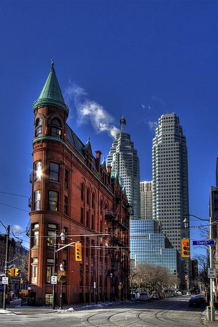 Toronto's Flatiron Building Gooderham