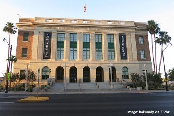 Las Vegas Mob  Museum exterior