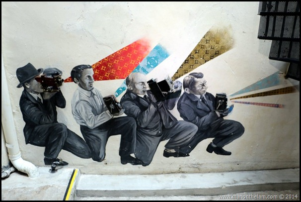 Paparazzi mural penang camera museum george town penang malaysia thumb