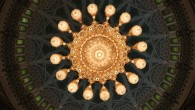 """Sultan Qaboos Grand Mosque, Muscat, Oman """"We used to have the world's largest carpet, but then the Emiratis came when they were building the Sheikh Zayed Mosque in Abu Dhabi, measured ours, and now they have the title. We also used to have the world's largest chandelier, but then the..."""