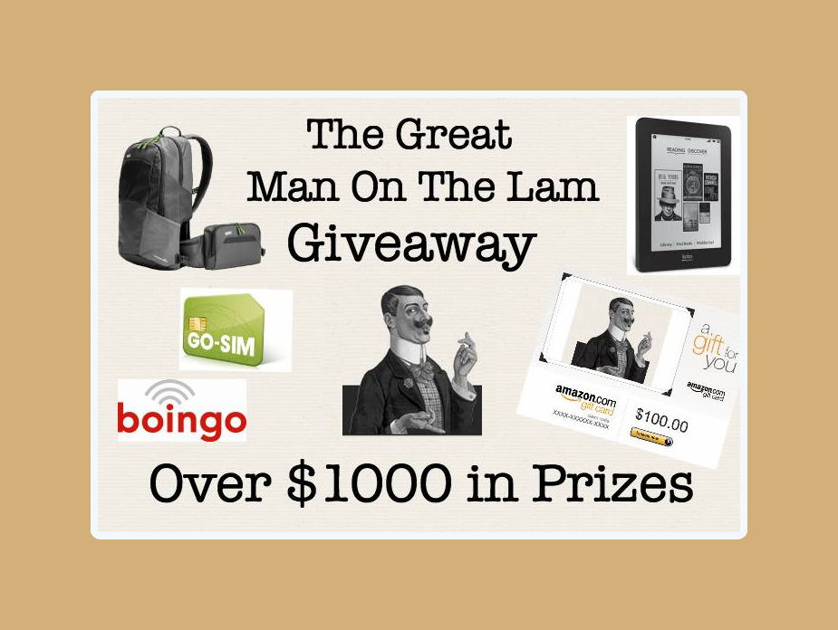 The great man on the lam giveaway 002