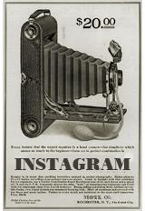 vintage camera 1920s Instagram social media icon manonthelam