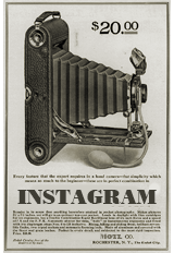 vintage camera 1920s Instagram social media icon manonthelam