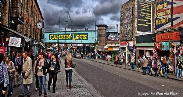 Camden Market London England