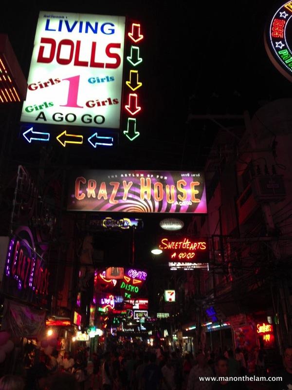 Pattaya Nightlife Gogo bars Ping Pong Shows in Pattaya Thailand