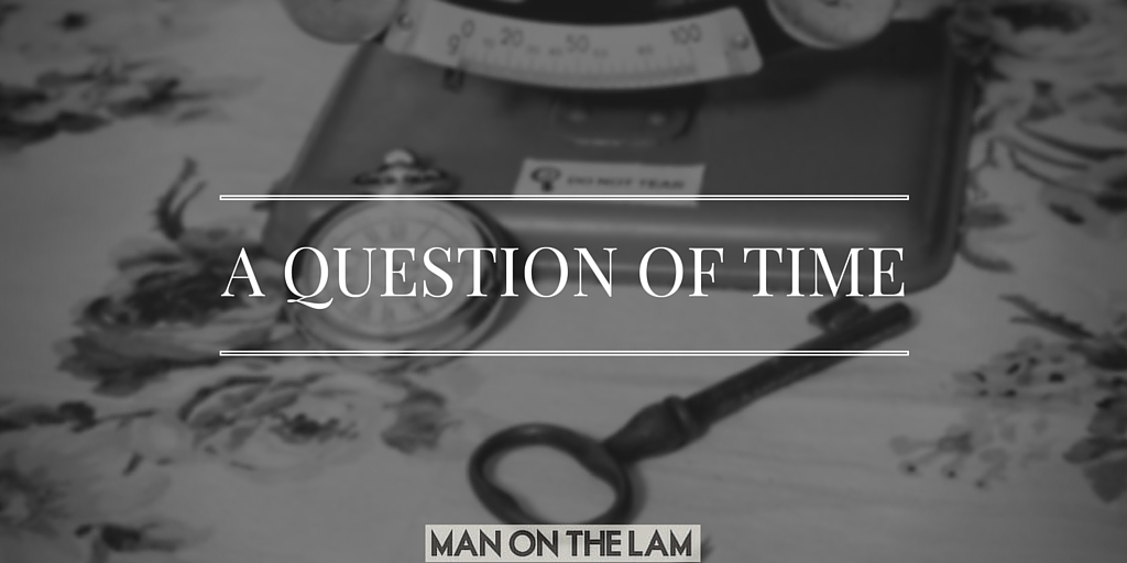 A question of time man on the lam
