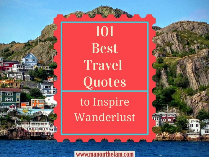 101 best travel quotes to inspire wanderlust